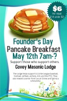 Copy of Mothers Day Pancake Breakfast - Made with PosterMyWall